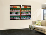 Bottles of Pinga (Cachaca), a Spirit Made from Sugar Cane, Festa De Pinga Wall Mural by Judy Bellah