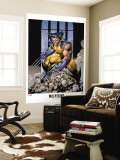 Wolverine Lithograph: Wolverine Wall Mural by Jim Lee