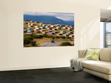 Houses at Informal Rural Settlement Wall Mural by Todd Lawson