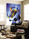 Mystique No.23 Cover: Wolverine and Mystique Wall Mural