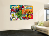 Marvel Comics Presents No.5 Cover: Wolverine, Inquisitor, Marvel Comics and Thor Charging Wall Mural by John Buscema