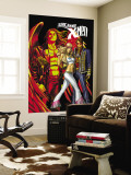 Uncanny X-Men No.497 Cover: Cyclops, Emma Frost and Angel Wall Mural by Mike Choi