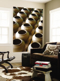 Clay Pots Wall Mural by John Borthwick