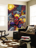 Amazing Spider-Man No.526 Cover: Spider-Man Wall Mural by Mike Wieringo