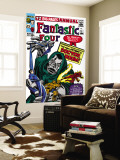 Fantastic Four Annual No.2 Cover: Dr. Doom Wall Mural by Jack Kirby