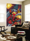 Amazing Spider-Man No.528 Cover: Spider-Ham Wall Mural by Mike Wieringo
