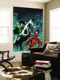 Marvel Adventures Spider-Man 12 Cover: Spider-Man and Nightmare Wall Mural by Mike Norton