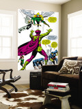 X-Men No.50 Group: Mesmero, Angel, Cyclops, Iceman, Beast, X-Men and Marvel Girl Wall Mural by Jim Steranko