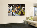 Fruit Stall at San Miguel Market Wall Mural by Diego Lezama