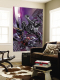 Black Panther 12 Cover: Black Panther and Blade Wall Mural by Scot Eaton