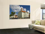Town Hall on Rynek (Town Square) Wall Mural by Witold Skrypczak