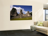 Ruins at Mayan Archaeological Site Wall Mural by Doug McKinlay