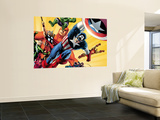 Fallen Son: The Death Of Captain AmericaNo.5 Group: Captain America Wall Mural by John Cassaday