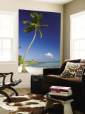 Beach at Punta Cana Wall Mural by Veronica Garbutt
