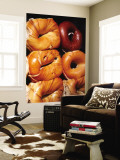 Bagels, New York City, New York Wall Mural by Michael Gebicki