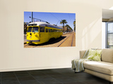 Castro Trolley Car Wall Mural by Christina Lease