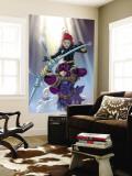 Hawkeye No.8 Cover: Hawkeye and Black Widow Wall Mural by Salvador Larroca