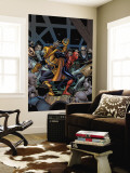 Amazing Spider-Girl No.18 Cover: Spider-Girl and Hobgoblin Wall Mural by Ron Frenz