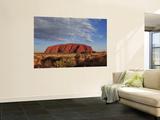Uluru Wall Mural by Angus Oborn