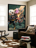 Ultimate X-Men No.89 Group: Wolverine, Bishop, Beast and Angel Wall Mural by Salvador Larroca