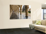 Colonnaded Marble Walkway at Joseph Stalin Museum Wall Mural by Tim Makins