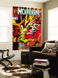 Wolverine 9 Cover: Wolverine Wall Mural by Gene Colan