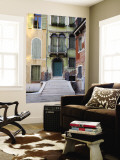 Old Building Entrance and Facades Wall Mural by Christopher Groenhout