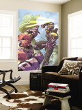 Sentinel No.3 Cover: Sentinel Jumping Wall Mural by Joe Vriens