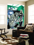 Wolverine Captain America No.3 Group: Wolverine, Captain America and Warbird Wall Mural by Tom Derenick