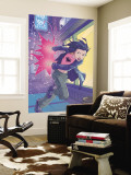 Jubilee No.4 Cover: Jubilee Wall Mural by Casey Jones