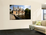 The Dam House over Canal of Minnewater Wall Mural by Bruce Bi