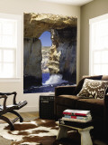 Azure Window Wall Mural by Jean-pierre Lescourret
