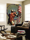 Iron Man No.78 Cover: Iron Man Wall Mural