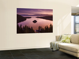 Winter Sunrise at Emerald Bay, Lake Tahoe Wall Mural by Witold Skrypczak