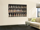 Bottled Sand for Sale at Souvenir Shop Wall Mural by Richard l'Anson