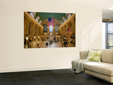 Interior of Grand Central Terminus Wall Mural by Richard l'Anson