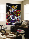 The Official Handbook Of The Marvel Universe Teams 2005 Group: Iron Man Wall Mural by Thomas Tenney