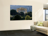 Ruined Greek Doric Temple Wall Mural by Doug McKinlay