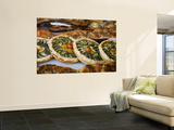 Quiche for Sale at the Market Wall Mural by Russell Mountford