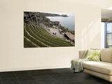 The Cliffside Minack Theatre Wall Mural by Doug McKinlay