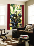Ultimate X-Men No.47 Cover: Wolverine and Colossus Wall Mural by Brandon Peterson