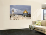 The Dome of the Rock (Masjid Qubbat As-Sakhrah) Wall Mural by Izzet Keribar