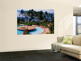 Swimming Pool at Luxury Hotel Wall Mural by Jean-Bernard Carillet