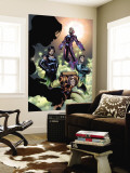 Fantastic Four No.514 Group: Wizard, Cole, Hydro-Man, Salamandra and Frightful Four Wall Mural by Paco Medina
