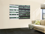 Pattern of High-Rise Office Windows, Lower Manhattan Wall Mural by Michelle Bennett