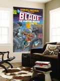 Blade The Vampire Slayer 3 Cover: Blade Reproduction murale g&#233;ante