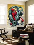 Marvel: Monsters On The Prowl No.1 Group: Giant Man and Grogg Wall Mural by Duncan Fegredo