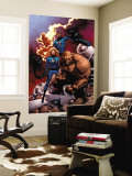 Fantastic Four Special No.1 Cover: Mr. Fantastic Wall Mural by Casey Jones