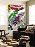 The Amazing Spider-Man No.64 Cover: Vulture and Spider-Man Fighting Wall Mural by Don Heck