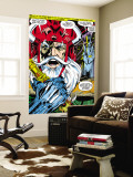 Thor 180 Headshot: Odin Wall Mural by Neal Adams